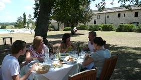 Thuis eten in Toscane