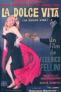 La Dolce Vita, de bekendste film uit Italie