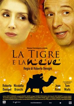 La tigre e la neve; Benigni op zijn best