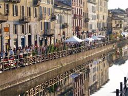 Navigli, een lieflijk stukje Milaan