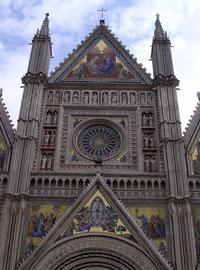 Mooi mozaiek in Orvieto