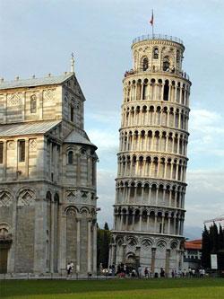 Met Ryan Air nu ook naar Pisa