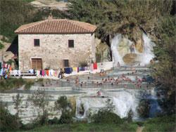 De gezondste watervallen van Italie
