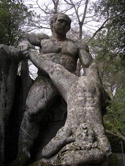 De beeldentuin van Bomarzo