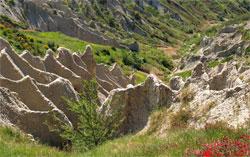 Calanchi en Pan Ducale in Atri