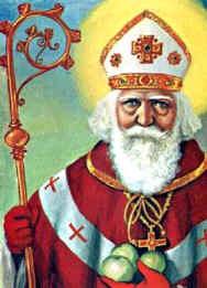 Sinterklaas ligt begraven in Italie