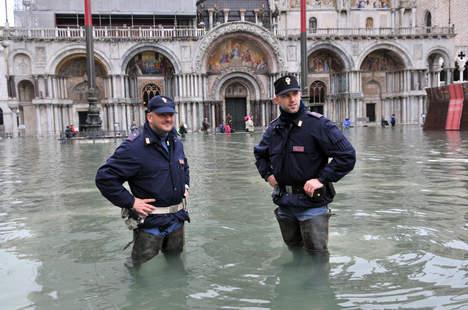 Lezing over hoogwater in Venetië