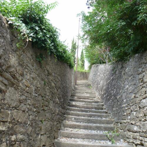 De trappen van Bergamo