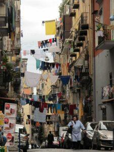 Ervaar chaotisch Italië in Napoli Italie
