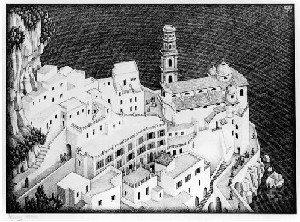 Italiaans werk Escher op Paleis Soestdijk