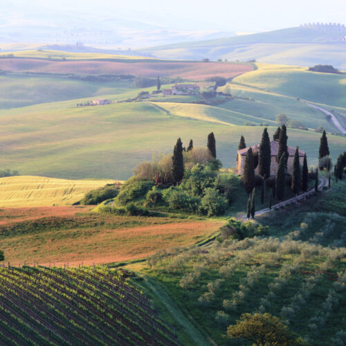 Verschillende rondreizen door Italië