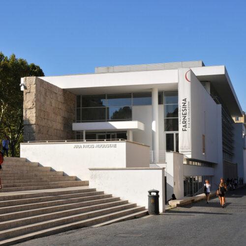 Ara Pacis en moderne architectuur Rome