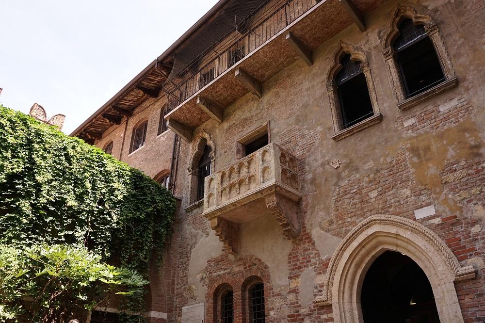 Balkon Romeo en Julia Verona
