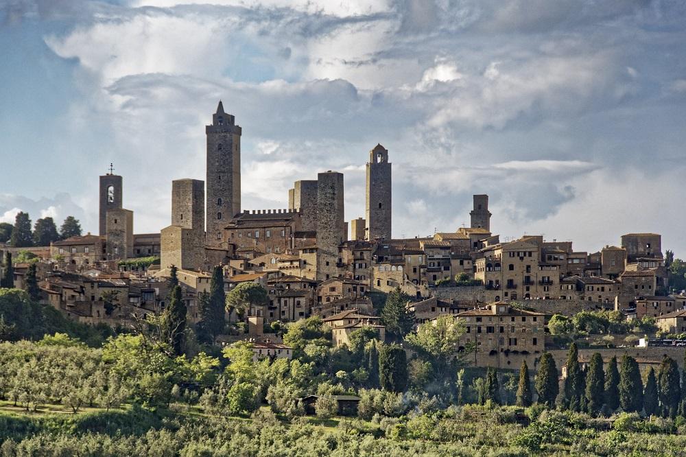 Middeleeuwse torens San Gimignano