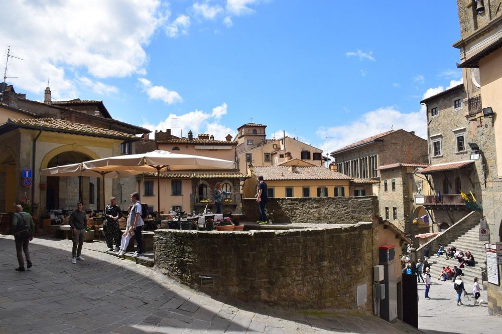Smalle straatjes Cortona
